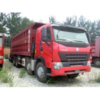 Wholesale 420 hp A7 8x4 Dump Tipper Truck / 4 axle dump truck with A7-W Cabin from china suppliers