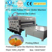 Wholesale Automatic Feeding Flexo Printer Slotter Machine Corrugated Carton Box Machine from china suppliers