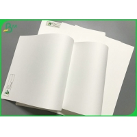 China Digital Printing 130um 200um 250um Polypropylene Coated Synthetic Paper Sheet on sale