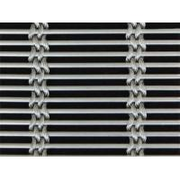 A piece of cable metal mesh with round wire and four rows 2mm cable steel wire.