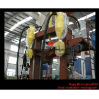 Quality T / I / H Beam Welding Line With Automatic Flux Recycling System Assembly and Straightening for sale