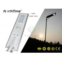 Wholesale PIR Motion Sensor Street Lights LED 50W Solar Road Lamp 5100-5200 Lumens from china suppliers