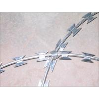 Wholesale Concertina Razor Barbed Wire Electric Galvanized Steel Garden Border Edging from china suppliers