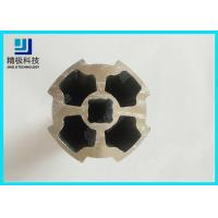 Wholesale 6063-T5 Plum  Blossom Tubing Aluminum Pipe Silvery Oxidation Flower Pipe AL-M from china suppliers