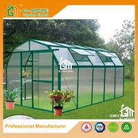 Wholesale 10'x6'x6.7'FT Green Color Easy DIY Barn Style Aluminum Greenhouse from china suppliers