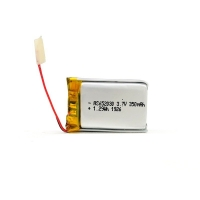 Wholesale 350mAh 3.7 V Lithium Polymer Battery CV Charge KPL652030 from china suppliers