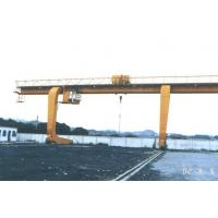 Buy cheap Professional 15m Lifting Height 60 Ton Single Girder Gantry Crane With Hook from wholesalers