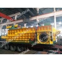 Buy cheap Double Main Cylinder Hydraulic Scrap Baler Machine 8-12 Bales / Hour from wholesalers