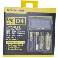 Buy cheap Nitecore D4  flashlight battery charger, EU/US Plug Intelligent Battery Charger from wholesalers