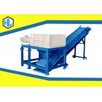 Wholesale Blue Color Anti Corrosive Wood Waste Shredder , Tree Branch Shredder Machine from china suppliers