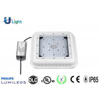 Quality IP65 Commercial led canopy lights , DLC / UL gas station lights Power Savings for sale