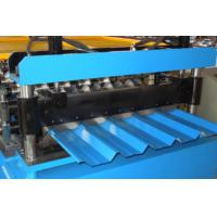 Wholesale Steel Tile Making Roof Panel Roll Forming  Machine with Automatic Hydraulic Cutting from china suppliers