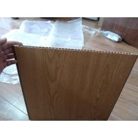 Wholesale Heat Insulation PVC Wall Panel Wooden Color 40cm x 12mm For Office Decor from china suppliers