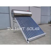 Wholesale 18 Tubes Pressurized Solar Coil Water Heater Passive Thermosyphon Heating System from china suppliers