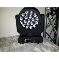 Wholesale 19PCS 12W RGBW Bee Eyes LED Moving Head Wash Light With Blue Ground LCD Display from china suppliers
