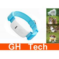 Wholesale Blue Small Dog GPS Tracker , Accurate Dog GPS Tracking Collar from china suppliers