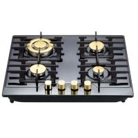 Wholesale Stainless Steel 4 Hob Gas Cooker , Built In Four Burner Gas Stove 580*500mm from china suppliers