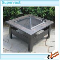 Wholesale Outdoor Furniture Portable Garden Treasures Fire Pit with Iron 81*81*43cm from china suppliers
