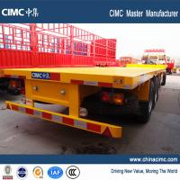 Wholesale 20ft 40ft heavy duty capacity flatbed trailer with container twist lock for sale from china suppliers