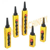 Wholesale Universal Hoist Pendant Control With Tow Speed Control Buttons , NXAC Series from china suppliers
