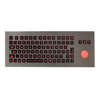 Wholesale Waterproof  Stand alone movable Industrial Keyboard With Trackball for Army , Navy from china suppliers
