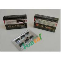 Wholesale Black Storm Powerful Male Libido Pills , Anti ED Natural Male Natural  Enhancement Pills from china suppliers