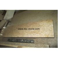 Wholesale G682,Sunset gold,Rusty yellow,Yellow granite stairs&steps,Natural stone stairs&steps from china suppliers