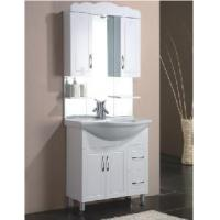 Wholesale Elegant Free Standing High Gloss White Color MDF Bathroom Vanity  (BL-F800) from china suppliers