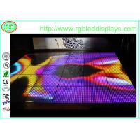 Wholesale Interactive Sensitive Charming Acrylic Led Disco Dance Floor Panel Rgb Change Color from china suppliers