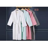 Wholesale Morden Design Hotel Style Bathrobes With ISO9001 Certificate 1200gsm from china suppliers