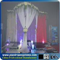 Wholesale Beautiful pipe and drape backdrop ,easy setup pipe systems for sale from china suppliers