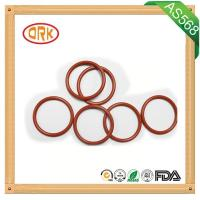 Quality Blue Half Transparent Silicone O Ring Heat Resistance Customized Size for sale