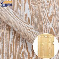 Wholesale Furniture Embossed Texture Pvc Decorative Film 3d For Membrane Press from china suppliers