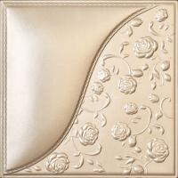 Wholesale Building Material Carved Decorative 3D Leather Padded Wall Panels , D-024 from china suppliers