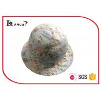 Wholesale 100% Cotton Flower Printed Bucket Hat  With Cotton Flower Printed Lining from china suppliers