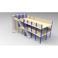 Quality Ground + Two Flooring 246FT/7.5M Height Shelving With Mezzanine Floors System for sale