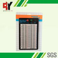 Wholesale Student DIY Transparent Soldered Breadboard 1660 Points 2 Terminal Strip from china suppliers