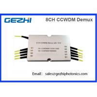 Wholesale 8CH CWDM Mux Demux CCWDM Module Compact Coarse Wavelength Division Multiplexer from china suppliers