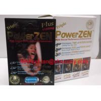 Wholesale Powerzen Triple Plus 1100mg Male Enhancement Pill / Capsules from china suppliers