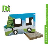 Wholesale Fashion Trapeziform Cardboard Display Stand 100% Recycle For Pet Products from china suppliers