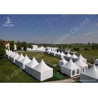 Wholesale Fast Setting Up Strong High Peak Tents / Aluminum Structure Tent Wind Resistant from china suppliers