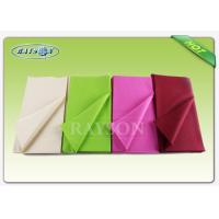 Wholesale Monouso Non Woven Tablecloth IN TNT Overseas Stable Uniformity Disposable fabric 1m * 1m from china suppliers