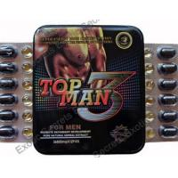 Wholesale Top Man 3 Sex Vimax Enhancement Pills Topman 3 Male Performance Enhancer Pills from china suppliers