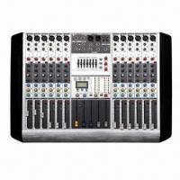 Buy cheap Professional Audio Mixer with 8/12/16 Channels and 24-bit Multi-effect Processor from wholesalers