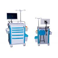 Wholesale Medical Mobile Adjustable Laptop Computer Cart Emergency Cart Laptop Cart Five Drawers (ALS-WT08) from china suppliers