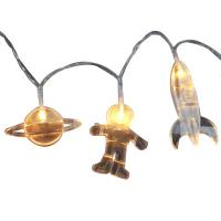 Wholesale Spaceman led fairy string astronaut rocket space led string from china suppliers