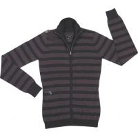 Wholesale Anti - Shrink  Cotton  Pigment dyeing Womens Cardigan garment Sweater  from china suppliers