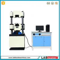 Wholesale Microcomputer 200kg hydraulic universal tensile testing machine computer control from china suppliers
