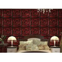 Wholesale Home Wall European Style Wallpaper Contemporary Mural Leather 3D Wall Panel for Hotel / Office from china suppliers
