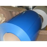 Wholesale CGCC PVDF Ocean Blue Precoated GI Steel Coils , Color Coated Galvanized Steel Coil from china suppliers
